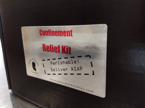 Our Confinement Relief Kit is a perfect way to reach out to anyone who is at home or away from the office for personal or health reasons.