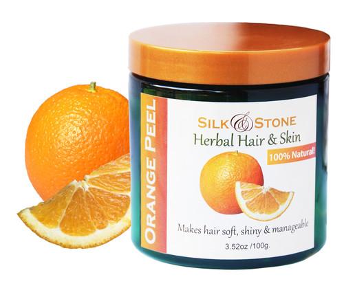 Silk & Stone 100% Pure and Natural Orange Peel Powder