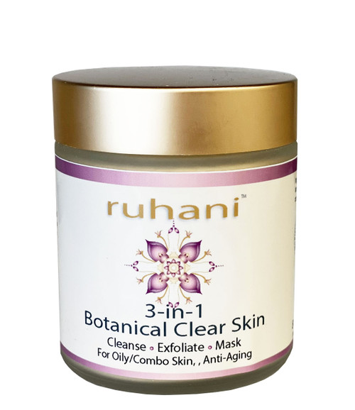 Silk & Stone 100% Pure Ruhani Purifying Cleansing Grains for oily and acne prone skin