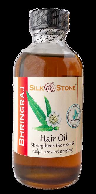 Silk & Stone 100% Natural Bhringraj (eclipta alba) Hair Oil