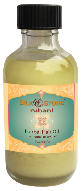 Silk & Stone 100% Natural Ruhani Herbal Hair Oil
