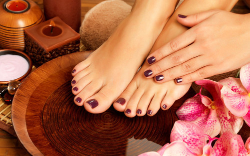 Soothing Lavender and Ginger Foot Treatment
