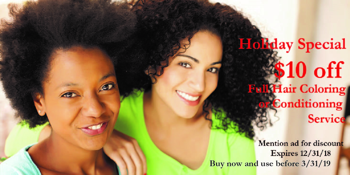 $10 Off your Full Hair Color/Conditioning Service