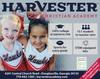 1st Grade Tuition - Harvester Christian Academy