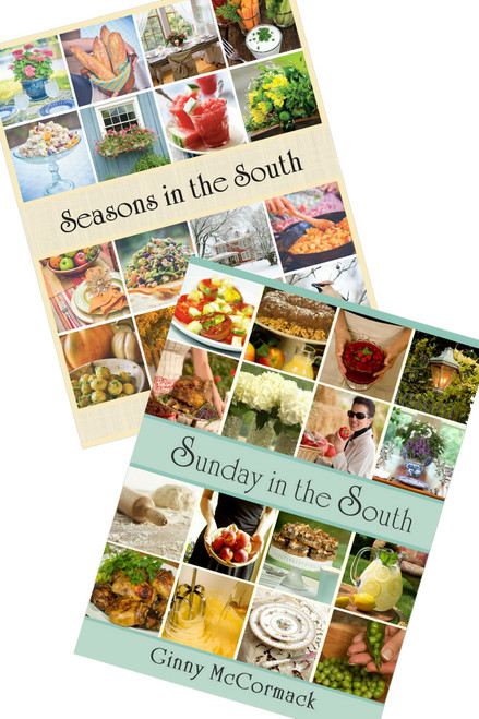 """Seasons in the South"" Cookbook (Case of 6) & ""Sunday in the South"" Cookbook (Case of 6) Split Case"