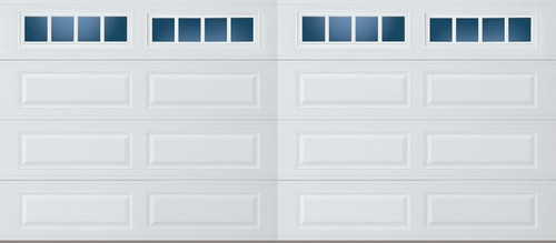 18' x 7' Stratford 1000 Long - True White Garage Door