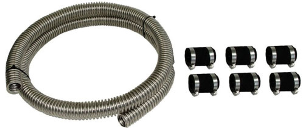 #13883 - Stainless Steel Radiator Hose Kit
