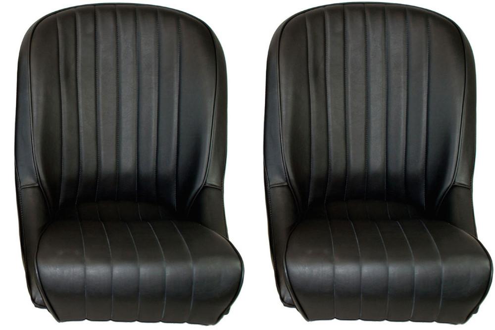 #16325 - Black Vinyl Roadster Seats