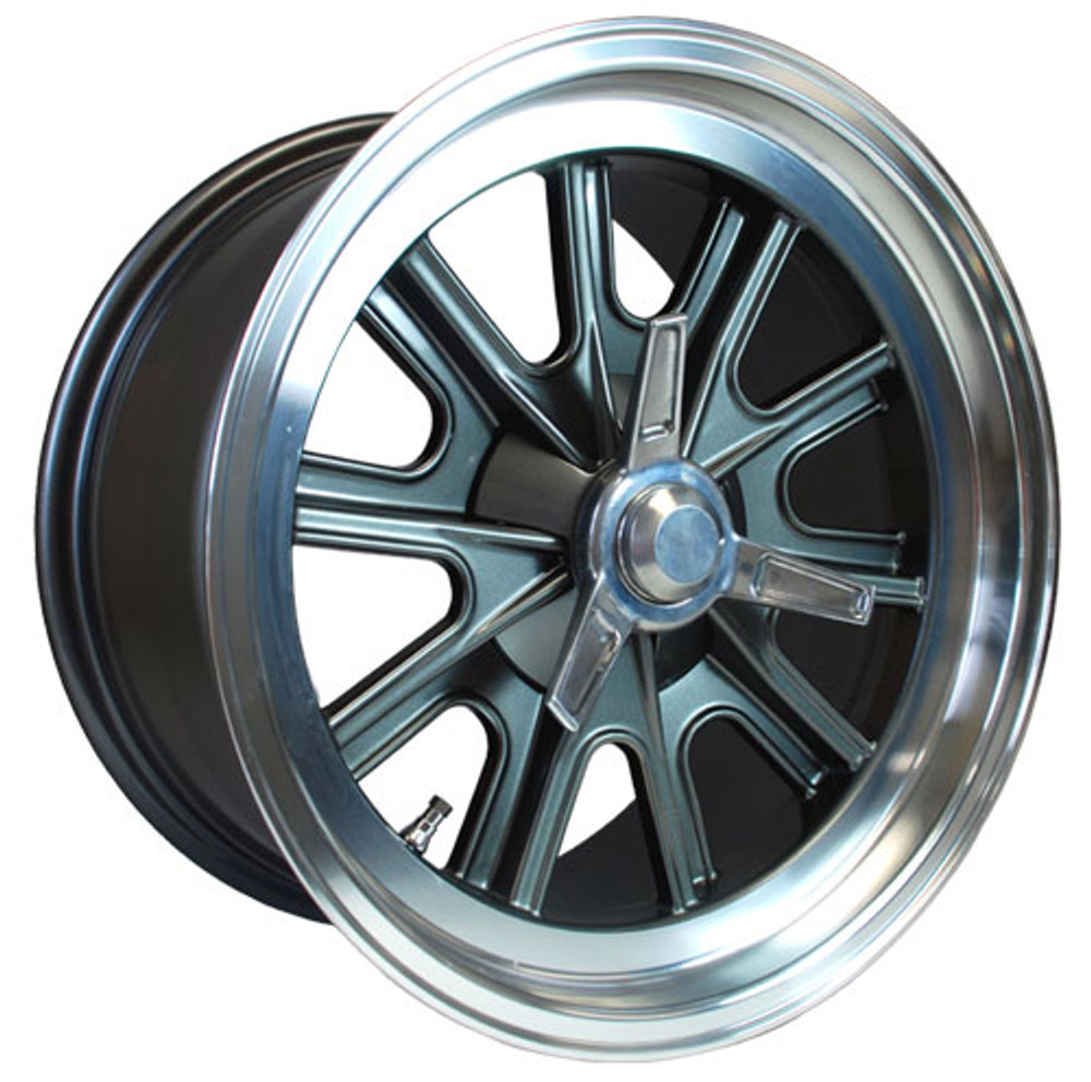 "#14862 - 17"" x 9"" Vintage Halibrand Replica Wheels"