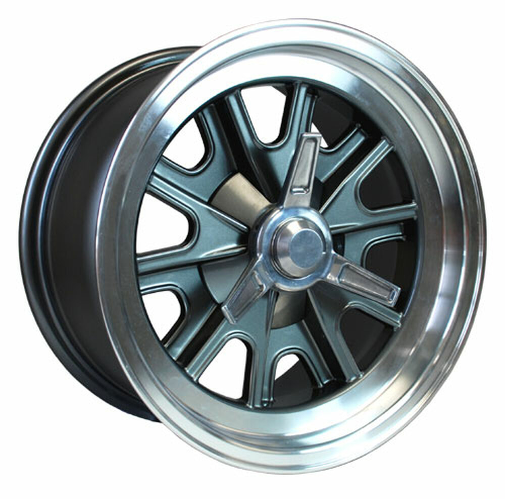 "#14867 - 15"" Vintage Halibrand Replica Wheels"