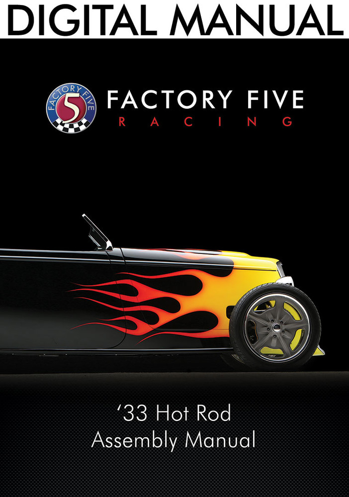 #33679 - '33 Hot Rod Assembly Manual - Digital Copy (PDF)