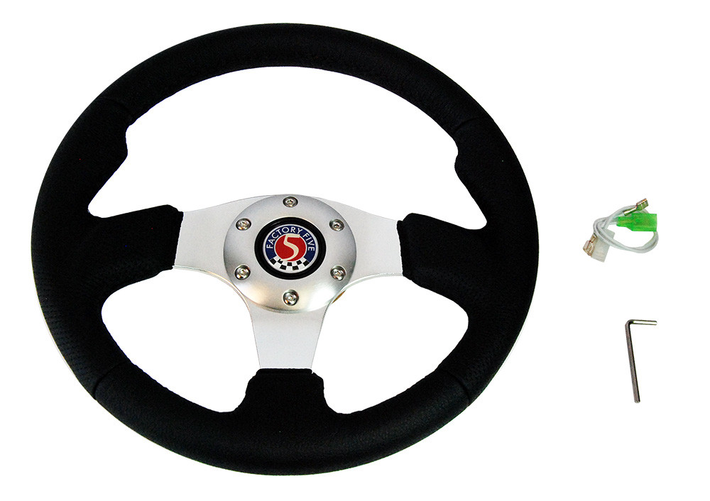 #80595 - Sport Leather Steering Wheel