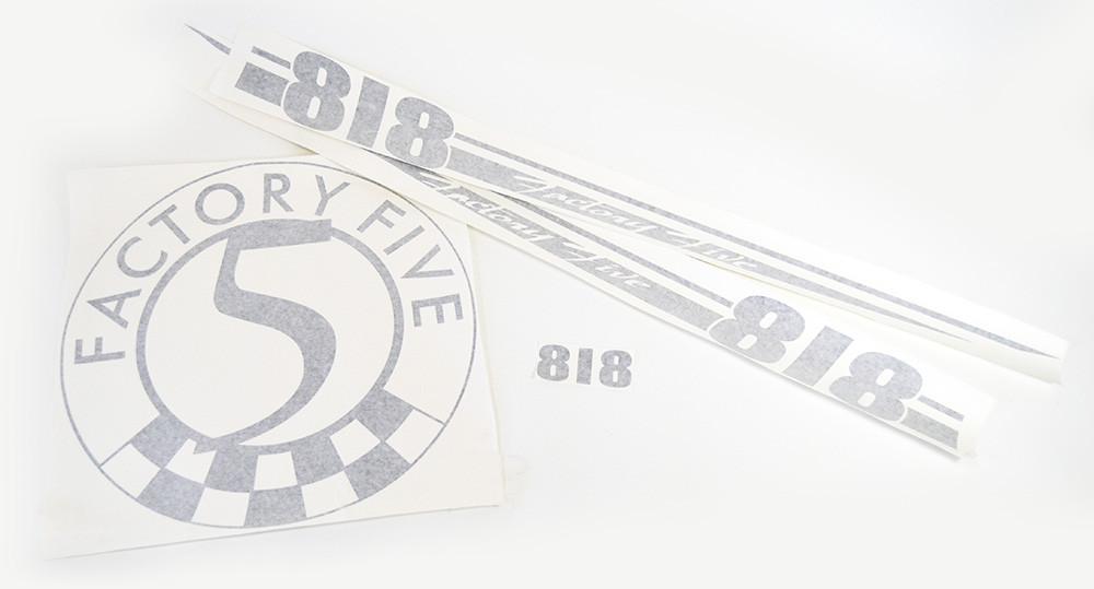#80818 - 818 Vinyl Graphic Set