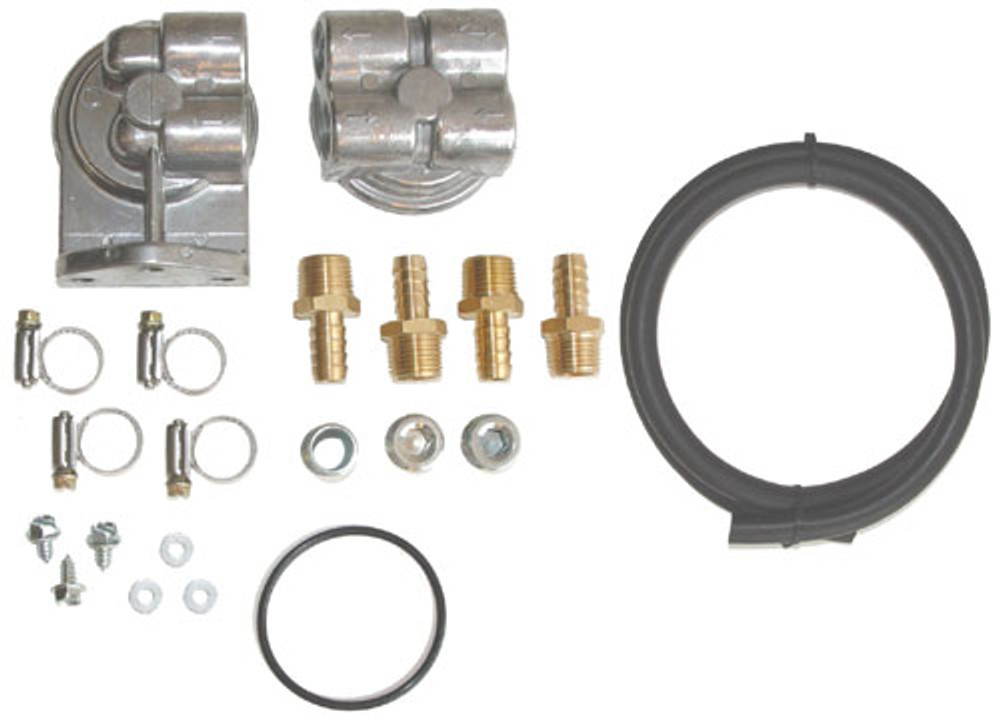 #10992 - Small Block Oil Filter Relocation Kit