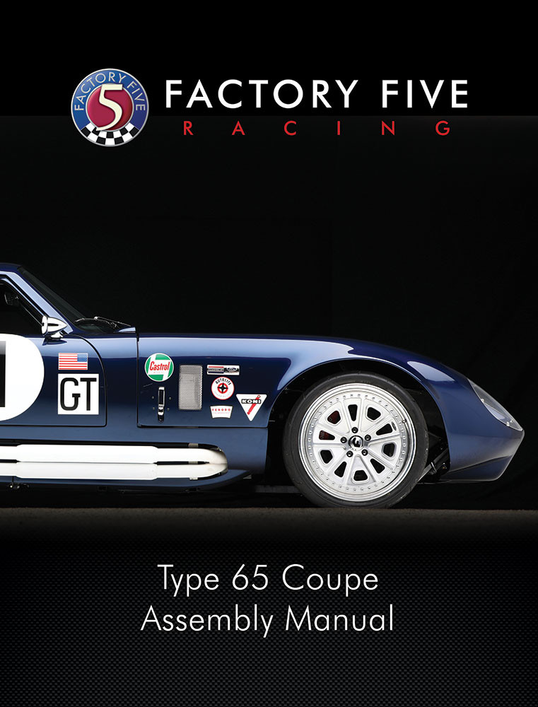 #60306 - Gen 3 Type 65 Coupe Assembly Manual - Printed Copy