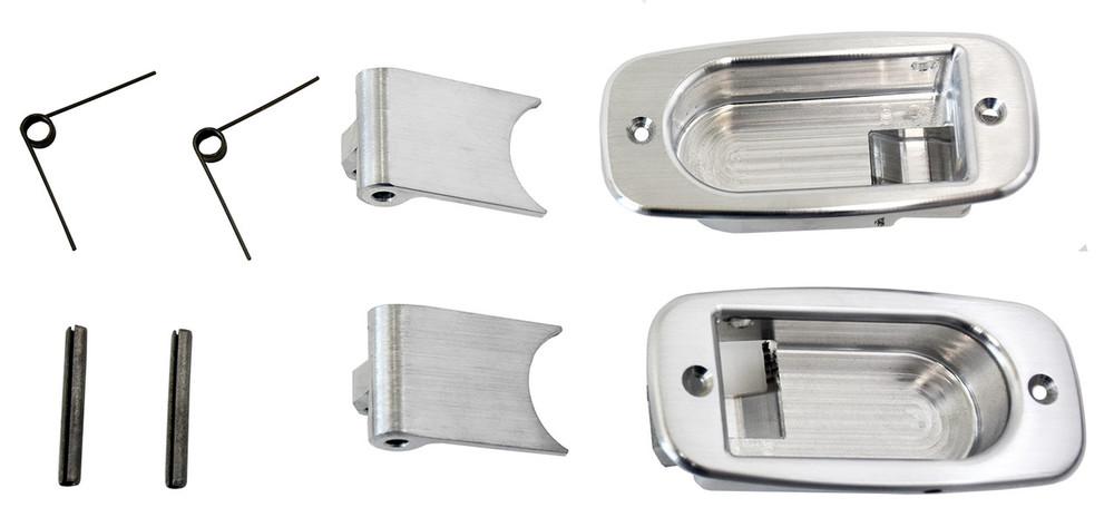 #60760 - Brushed Aluminum Interior Handles (Set of 2)