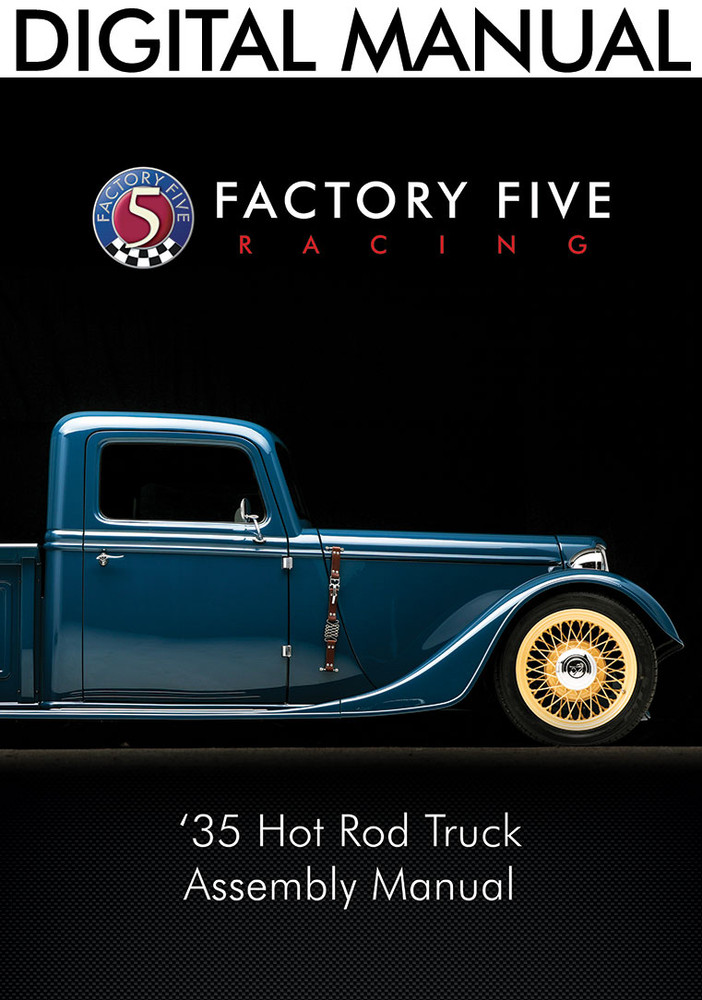 #34766 - '35 Hot Rod Truck Assembly Manual - Digital Copy