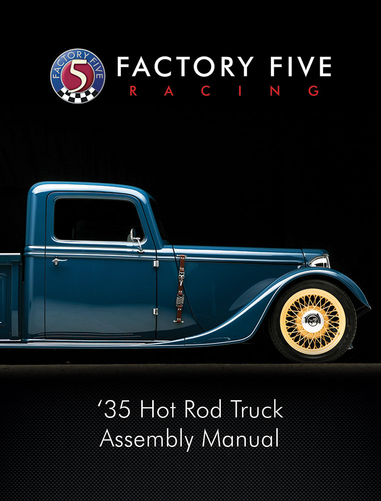 #34765 - '35 Hot Rod Truck Assembly Manual - Printed Copy