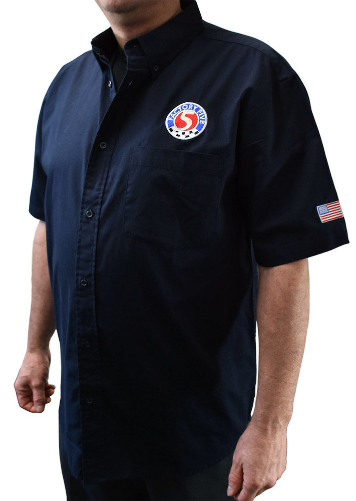 Factory Five Mechanic's Shirt with FFR Logo