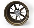 """#16742 - Bronze 18"""" Ten Spoke Sunburst Style Wheels"""