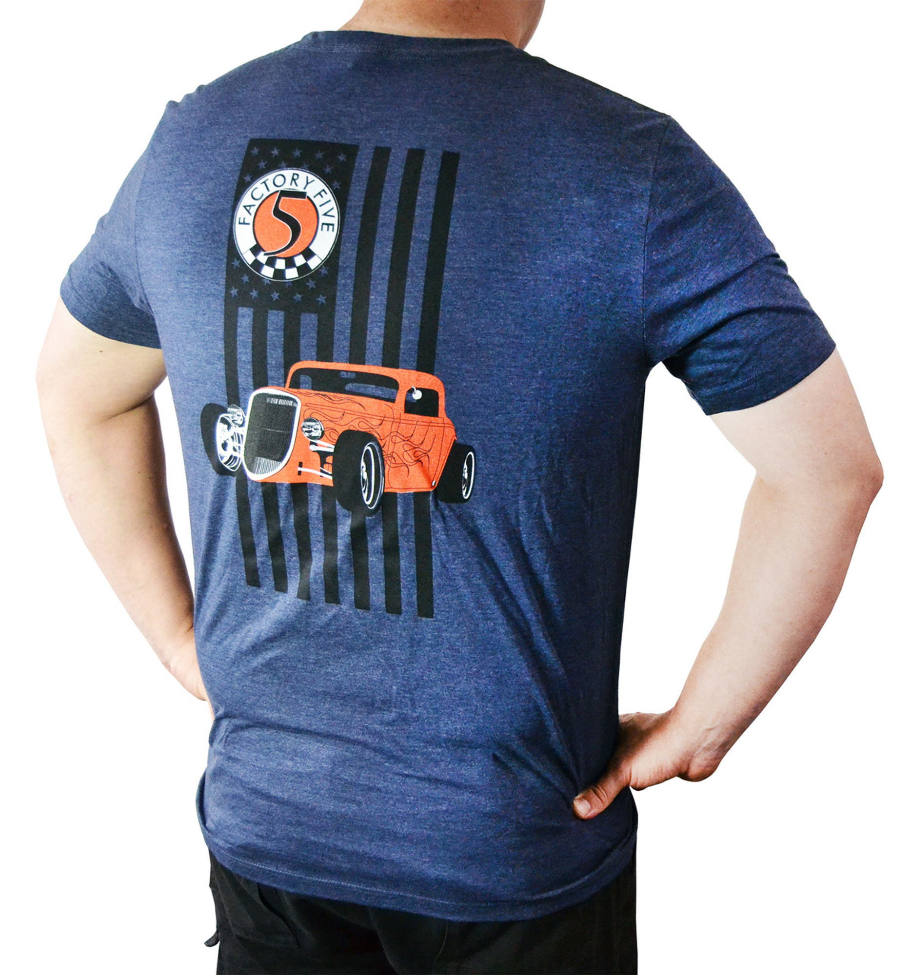 Hot Rod T Shirts >> 16451 Factory Five 33 Hot Rod T Shirt