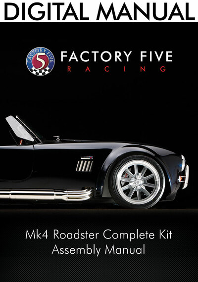 #15075 - Mk4 Complete Kit Manual - Digital Copy (PDF)