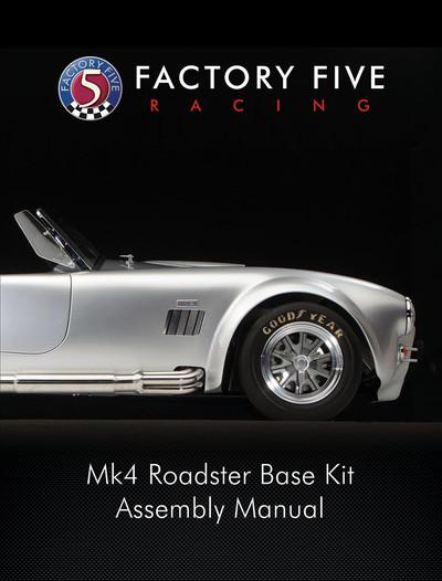 #15136 - Mk4 Roadster Base Kit Manual - Printed Version