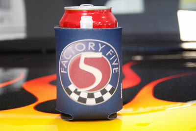 #15800 - Factory Five Logo Koozie