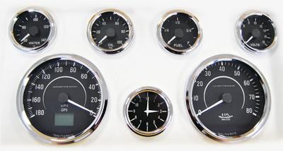 #16007 - Factory Five Vintage Gauge Set w/GPS Speedometer