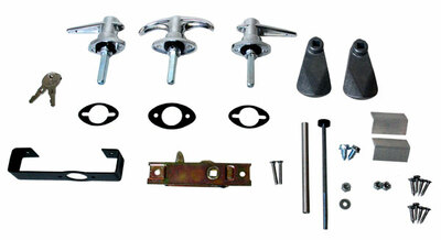 #11019 - Three Lock Set and Fasteners