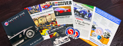 Factory Five Info Pack for International Requests