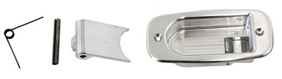 #16143 - Brushed Aluminum Interior Handle