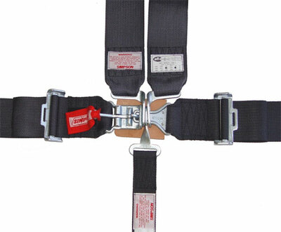 #12528 - 5 pt. Simpson Race Harness