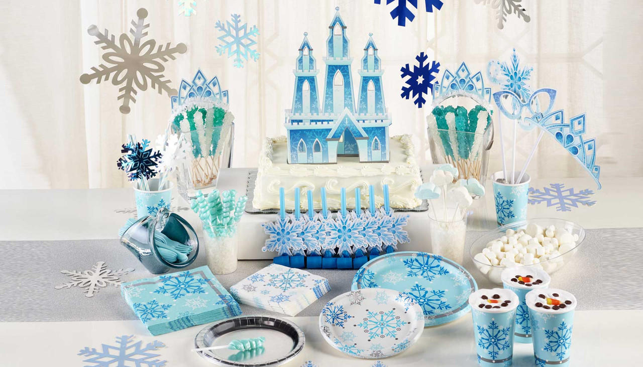 Snow Princess Party Supplies Singapore