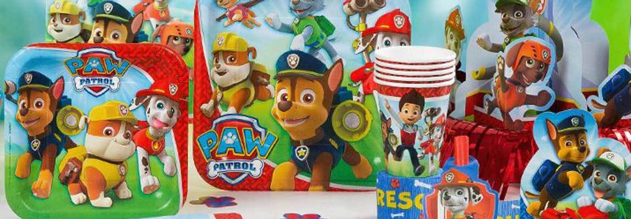 Party Supplies Paw Patrol