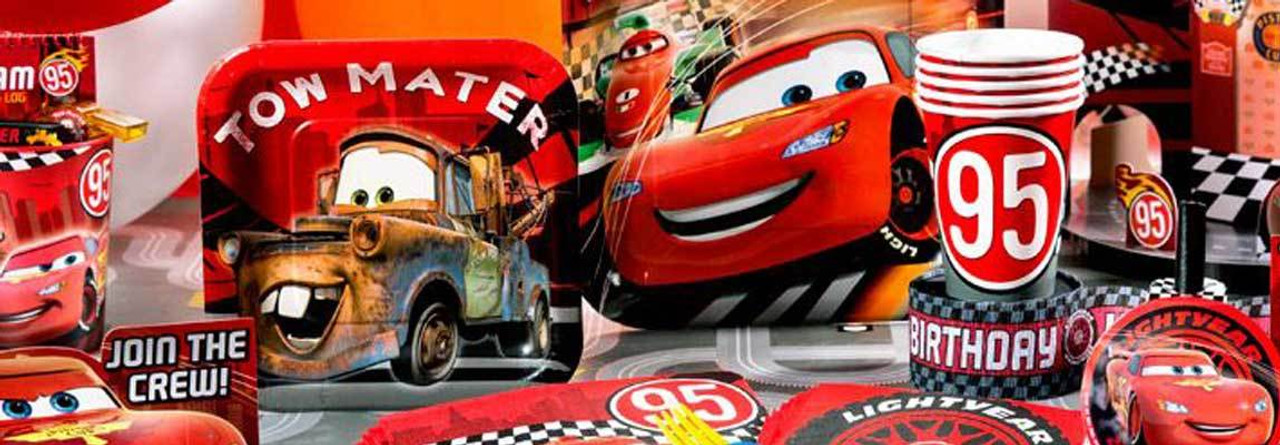 Disney Cars Party Supplies For Kids Birthday Party Themes At Mtrade