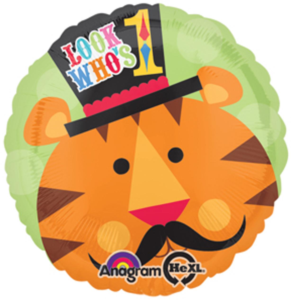 17 Fisher Price Circus Tiger 1st Birthday Balloon Mtrade Pte Ltd