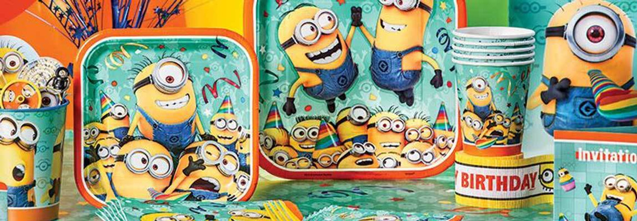 Party Supplies Minions Despicable Me