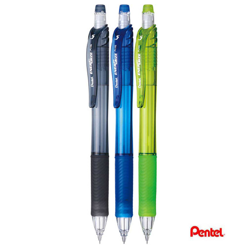 Pentel Energize X Automatic Pencil 0.5mm 3pcs/set PL105-ACK