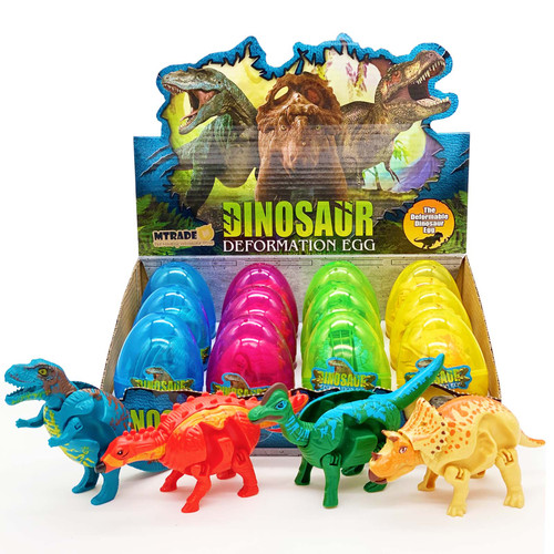 Dinosaur Transforming Egg Toy 12pcs/box