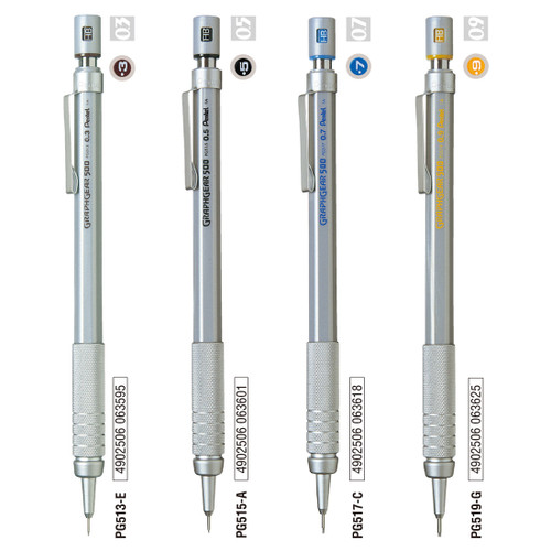 Pentel GraphGear 500 Draughting Automatic Pencil