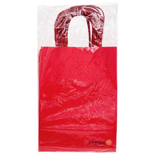 Red Small Kraft Paper Gift Bag