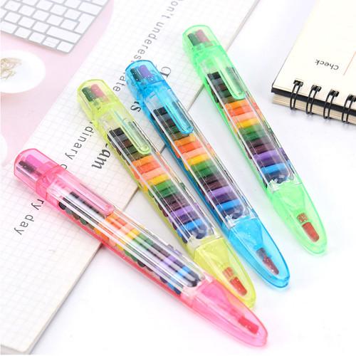 20-Color Crayon Pen 1 pcs