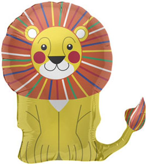 "28"" Lion Super Shape Balloon"