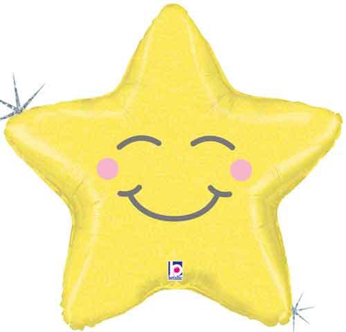 "26"" Chubby Star Super Shape Balloon"