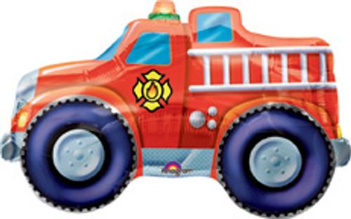 "33"" Fire Engine Super Shape Balloon"
