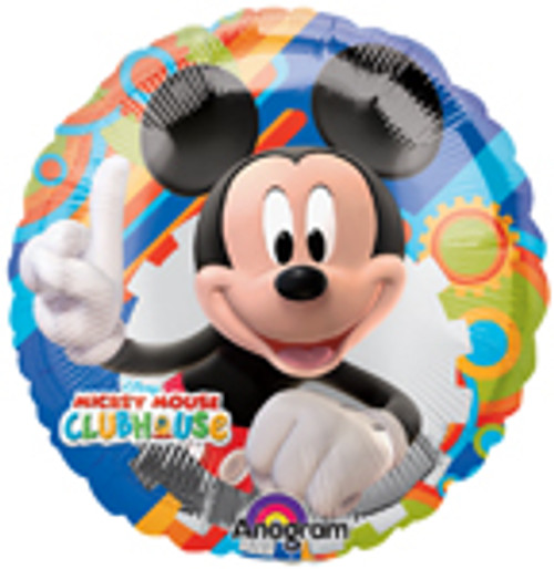 "9"" Mickey Mouse ClubHouse Air Filled Balloon"