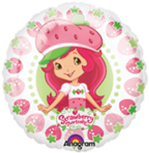 "9"" Strawberry Shortcake Air Filled Balloon"