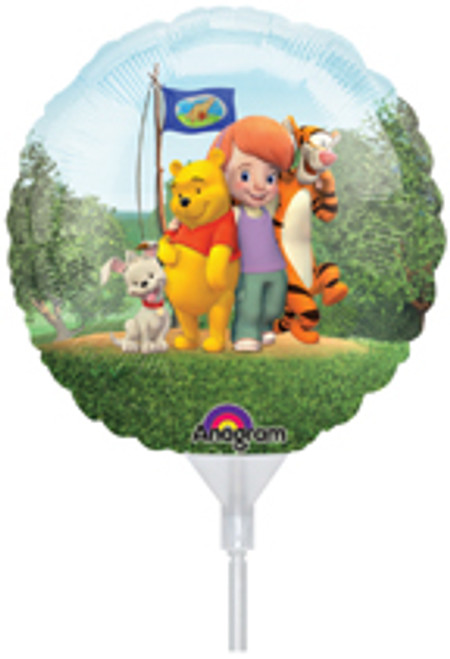 "9"" My Friends Tigger & Pooh Air Filled Balloon"