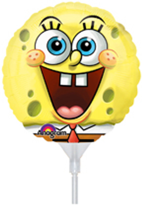 "9"" SpongeBob Air Filled Balloon"